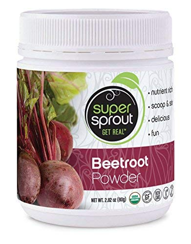 - Super Sprout Beetroot Powder (Organic) - 150 Grams (5.29 Ounces). Anti-inflammatory, antioxidant, cardiovascular health, energy/recovery booster are just some of the benefits you'll enjoy!!!