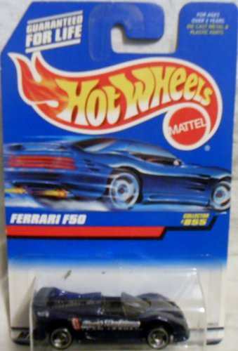 Hot Wheels 1998 1:64 Scale Purple Ferrari F50 Die Cast Car Collector #855 by Hot - Ferrari Purple