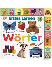 Erstes Lernen. Wörter: Pappbilderbuch mit Griff-Register und über 250 Fotos ab 1 Jahr