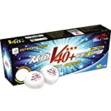 Double Fish V40+ Volant 3 Stars Table Tennis Ball (V40+ 3 Star, Ball)