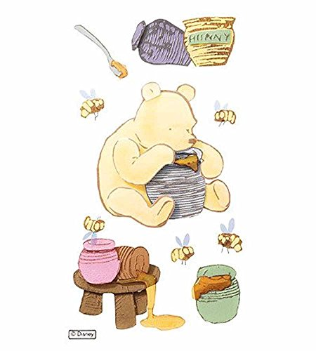 (Jolee's Boutique Disney Stickers-Classic Pooh And Honeypot Embellishment, Sticker Collage,)