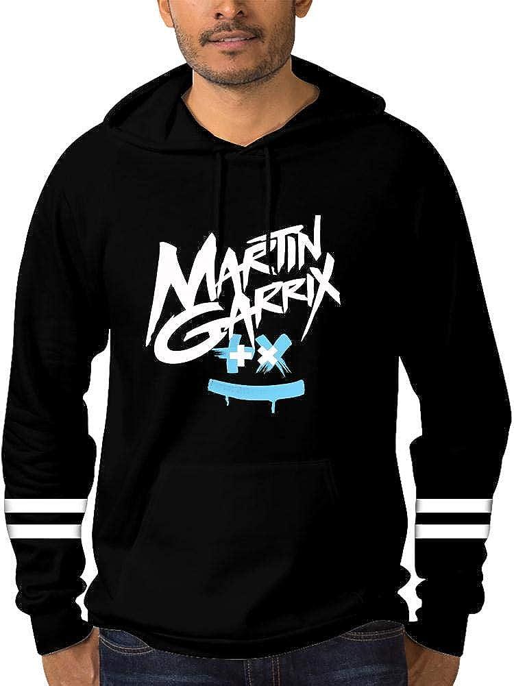 DJ Mar/_tin Garrix Wizard Mens Unisex Print Hoodie Hooded Sweatshirt Hat with Drawstring Pouch Pocket Jacket