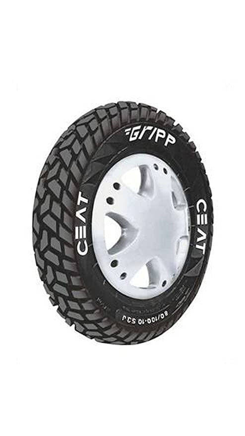 Ceat Gripp 3 50-10 Tube-Type Scooter Tyre (Home Delivery)