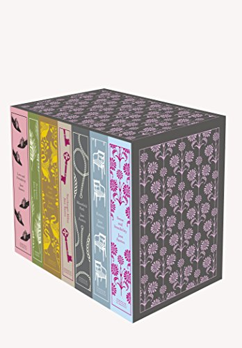 Jane Austen: The Complete Works 7-Book Boxed Set: Classics hardcover boxed set (Penguin Clothbound Classics) cover