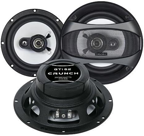 Crunch Gti 62 Lautsprecher 16 5cm Mercedes C Klasse Elektronik