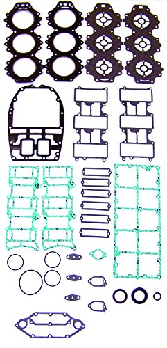 YAMAHA V6 76° 225/250 Carburated 6 Cyl. Complete Power Head Gasket Kit WSM 500-353 OEM# 61A-W0001-A1-00 ()