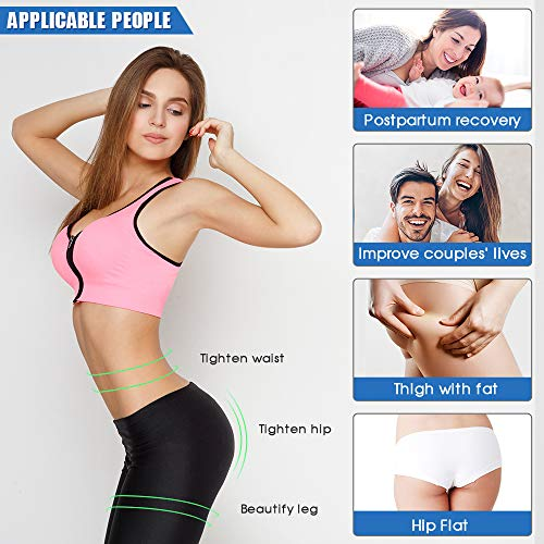 FRD Hip Trainer with Resistance Band as Gift-Kegel Exerciser -Pelvic Floor Muscle and Inner Thigh Exercise Equipment - Workout Equipment for Women