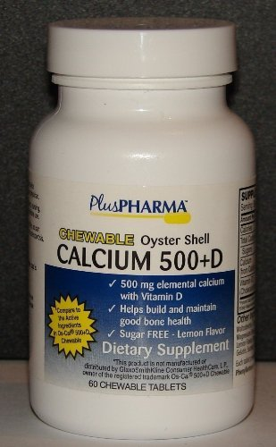 Chewable Calcium 500 plus D (Compare to Os-Cal 500 Chewable) 60ct