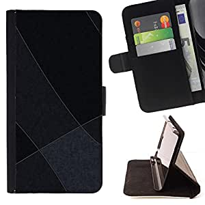 DEVIL CASE - FOR Samsung Galaxy S3 III I9300 - Gray Tones - Style PU Leather Case Wallet Flip Stand Flap Closure Cover