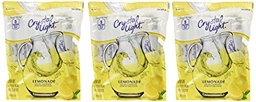 Crystal Light Lemonade Drink Mix - 8.6 oz - 16 ct - 3 pk