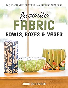 Favorite Fabric Bowls Boxes Quick ebook product image