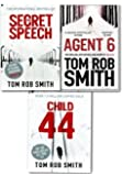 Child 44 Trilogy Collection 3 Books Set Tom Rob Smith Secret Speech, Agent 6