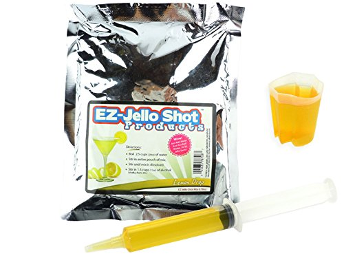Lemon Drop EZ-Jello Shot Mix 6.78 oz