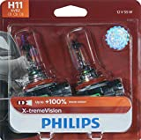 Best Headlight Bulbs - Philips H11 X-tremeVision Upgrade Headlight Bulb, 2 Pack Review