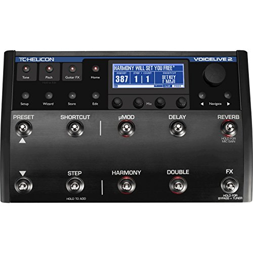 TC Helicon VoiceLive 2 with VLOOP | Floor-Based Vocal Guitar Processor ()