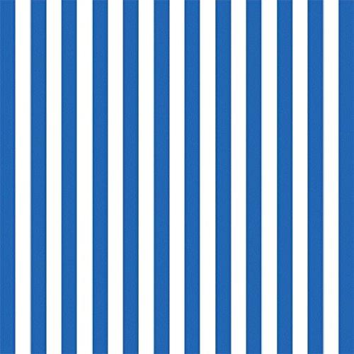 Royal Blue Gift Wrap - Royal Blue Stripe Jumbo Gift Wrap