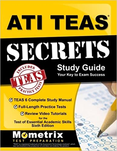 Amazon test prep study guides books ati teas secrets study guide teas 6 complete study manual full length practice fandeluxe Image collections