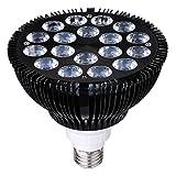 HIGROW 36W LED Grow Light Bulb 660nm Red