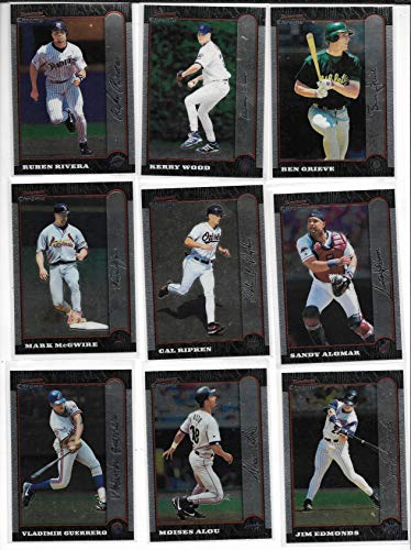1999 Bowman Chrome Baseball Complete 440 Card Set In Box & Penny Sleeved