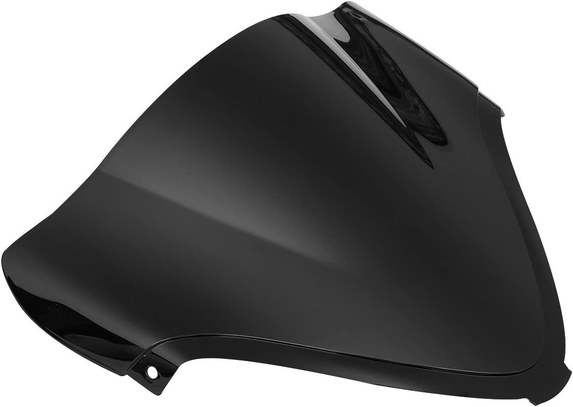 XMT-MOTOR Pare-brise de Moto Convient pour GSX1300R Hayabusa 2008-2017 Noir