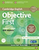 Objective First for Spanish Speakers Self-Study Pack (Student's Book with Answers, Class CDs (3))