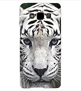 ColourCraft Tiger Look Design Back Case Cover for SAMSUNG GALAXY A3