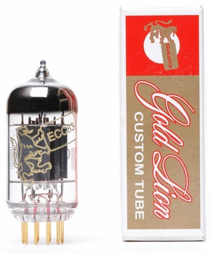 Genalex Gold Lion 12AX7 tube by Genalex