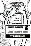 Chanel Inspired Adult Coloring Book: Fashion and