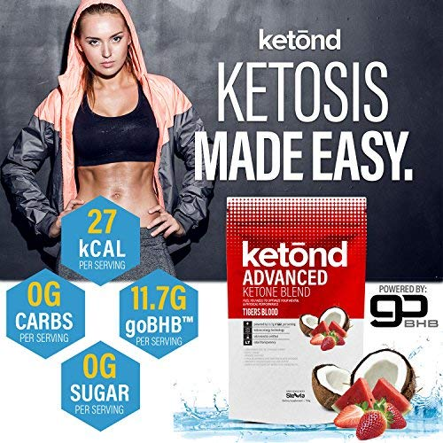 Ketond Advanced Ketone Supplement - 11.7g of goBHB per Serving (30 Servings) - #1 Rated BHB (Beta-HydroxyButyrate) Supplement for Weight Loss, Increased Energy, Focus & Fat Loss (Citrus Mango) by Ketond Nutrition (Image #4)