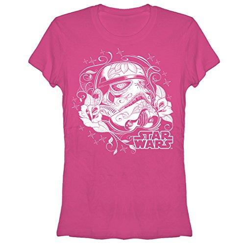 Star Wars Sugar Stormtrooper Juniors S Graphic T Shirt - Fifth Sun
