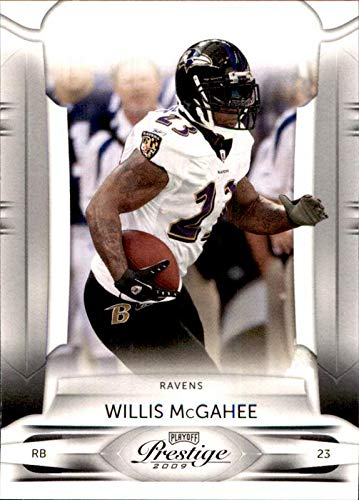 2009 Miami Hurricanes Football - 2009 Playoff Prestige #8 Willis McGahee BALTIMORE RAVENS MIAMI HURRICANES NFL Football Card