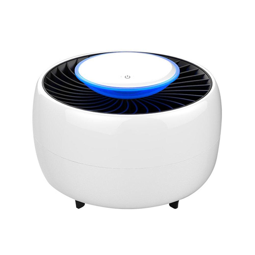 Starlit USB吸引タイプLED Mosquitoキラーランプライターミュートフライキャッチャー One Size ホワイト Y42717J22E1K B07DRGSTMR ホワイト