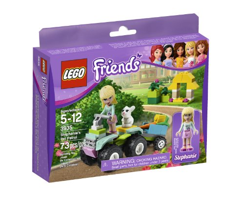 LEGO Friends Stephanie's Pet Patrol 3935 (Bike Lego Quad)