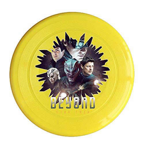 SYYFB Unisex Star Film Logo Outdoor Game Frisbee Flying Discs Yellow