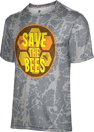 ProSphere Men's Save the Bees Causes Distressed Shirt (Apparel) - Donation The Bees Save