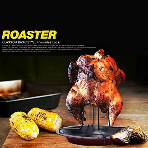 Parrilla portátil para asar pollo Asador antiadherente de ...