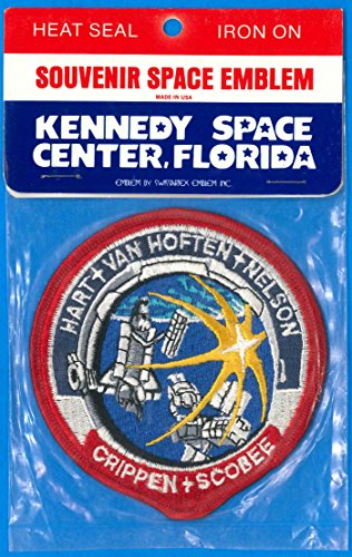 Patch 4 inch Space Shuttle Challenger Mission STS-41C - MOC 1984 Vintage NASA