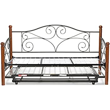 Amazon Com Fashion Bed Group Doral Complete Metal Daybed With Link