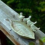 OLQMY Ceramic crafts, ceramic crafts, European ashtray, key jewelry storage disc, Home Furnishing decorative plate decoration,Birdie