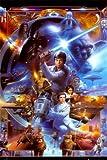 1art1 39362 Star Wars - 30th Anniversary Poster (91 x 61 cm)