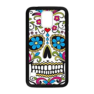 Vintage Skullcandy Pattern Image Case Cover Hard Plastic Case for Samsung Galaxy S5 i9600 Regular