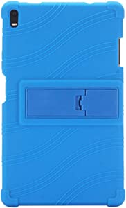 uirend Case for Lenovo Tab4 8 Plus - Stand Silicone Soft Skin Pouch Rubber Protective Cover Case for Lenovo Tab 4 8 Plus TB-8704F/N 8