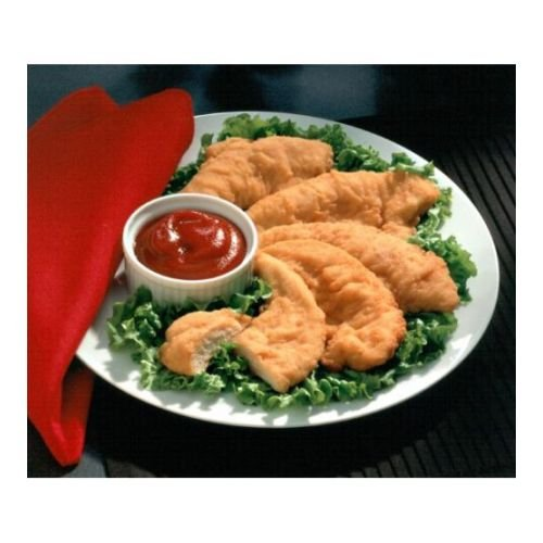 Chicken Breaded Tenderloins (Brakebush Original Select Breaded Sized Chicken Breast Tenderloin, 10 Pound -- 1 each.)