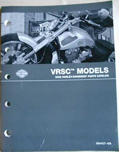 2009 Harley-Davidson VRSC Models Parts Catalog, Part No. 99457-09 ()