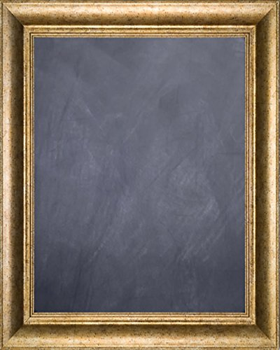 Framed Chalkboard 20'' x 24'' - with Antique Silver Finish Frame by Art Oyster