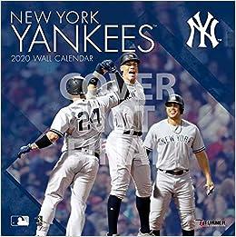 Ny Yankees 2020 Schedule.New York Yankees 2020 12x12 Team Wall Calendar Lang