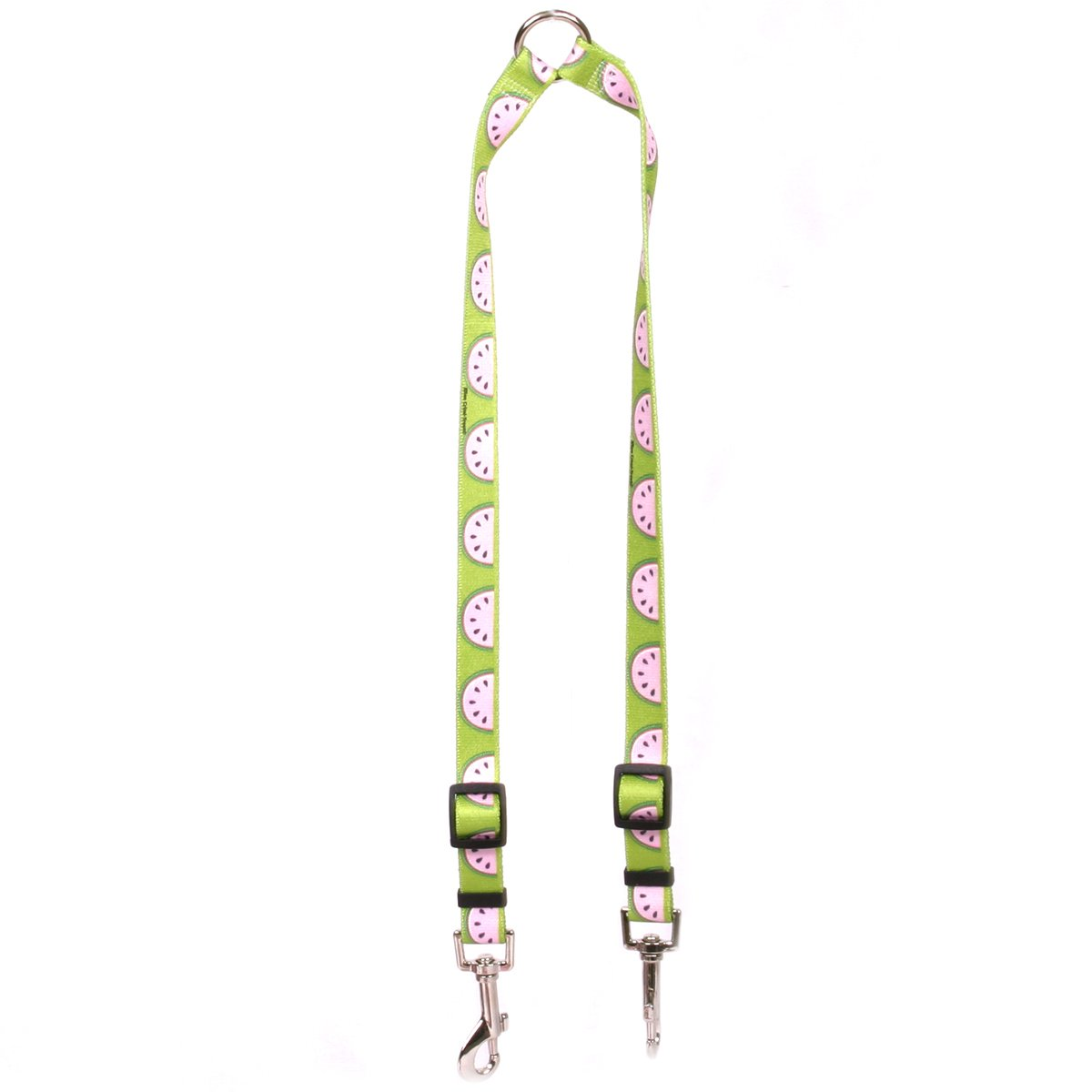 Yellow Dog Design Wonderful Watermelons Coupler Dog Leash