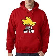 18b9f103e78 New Way 620 - Hoodie Just Saiyan Sayin DBZ Hair Super Dragon Ball Unisex Pullover  Sweatshirt