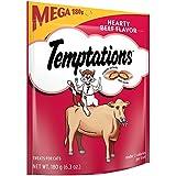 Whiskas Temptations Beef Mega Bag (Pack of 10)