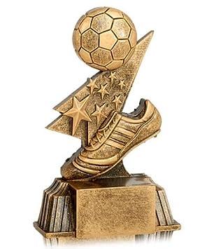 Trofeos de Futbol PACK de 15 GRABADO Resina 11cm Trofeos PERSONALIZADOS Trofeos Deportivos: Amazon.es: Deportes y aire libre